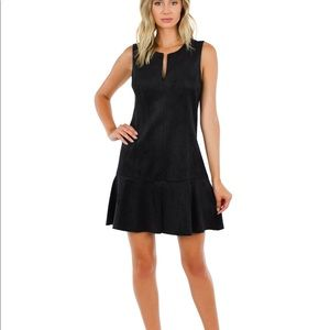 BCBGMaxAzria Adelene Suede Dress